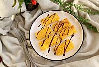 #快手又营养,我家的冬日必备菜品#芝士蟹柳卷的做法