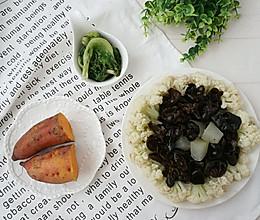 【减肥餐】水煮菜+地瓜的做法