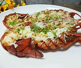 蒜蓉蒸龙虾的做法