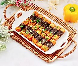 #福气年夜菜#照烧豆腐海苔的做法