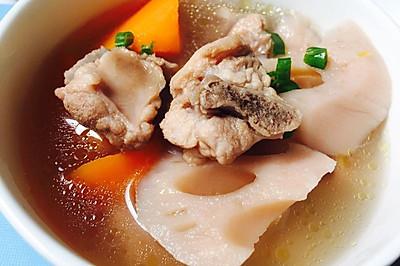 排骨莲藕胡萝卜汤