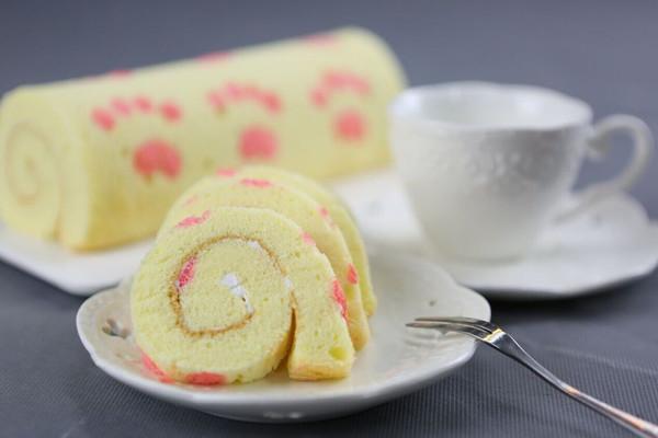 手绘蛋糕卷的做法