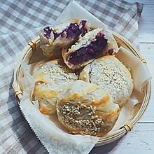 #换着花样吃早餐#紫薯酥
