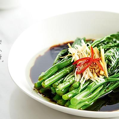 白灼芥蓝   刮肠菜