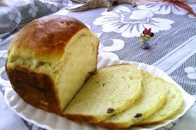 酸奶葡萄干面包#百变水果花样吃#