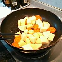 土豆咖喱牛肉饭的做法图解1