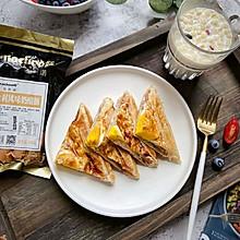 #夏日撩人滋味#手抓餅三明治  簡單快手的營養早餐