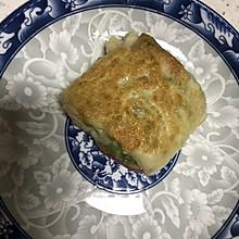 学生党最爱:青椒火腿饼