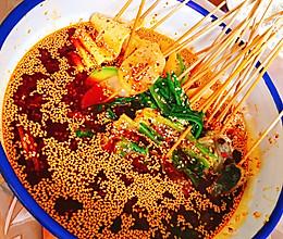 #夏日撩人滋味#红油钵钵鸡(冷锅串串)的做法