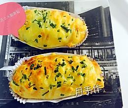 香䓤芝士火腿面包的做法