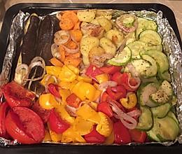 什锦烤蔬菜的做法