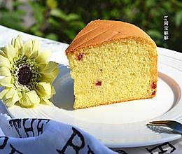 蔓越莓戚风蛋糕8寸—长帝贝贝CRWF32AM烤箱的做法