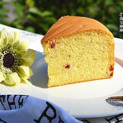 蔓越莓戚风蛋糕8寸—长帝贝贝CRWF32AM烤箱