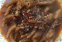 酱香鸡爪的做法