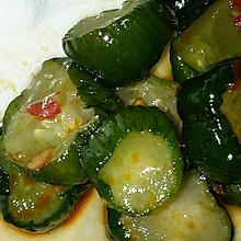 开胃小菜:脆腌小黄瓜