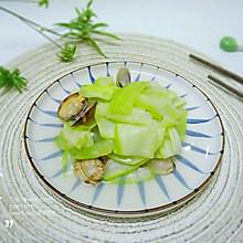 #花10分钟,做一道菜!#花蛤炒瓠瓜