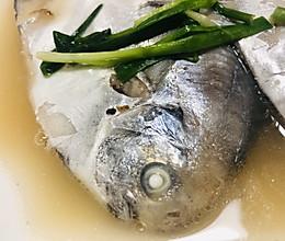 清水鲜鲳鱼(超简版)的做法