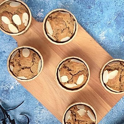 咖啡香蕉麦芬蛋糕