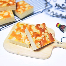 #金龙鱼精英100%烘焙大赛阿狗战队#糖粉杏仁切块面包