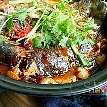 口蘑炖鲫鱼#给老爸做道菜#