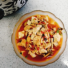 家常番茄鳕鱼豆腐汤