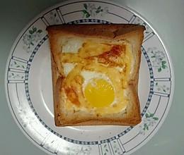 鸡蛋芝士面包的做法