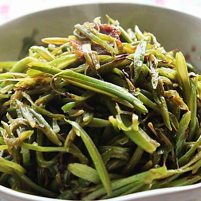 #菁选酱油之干锅油豆角的做法 步骤3