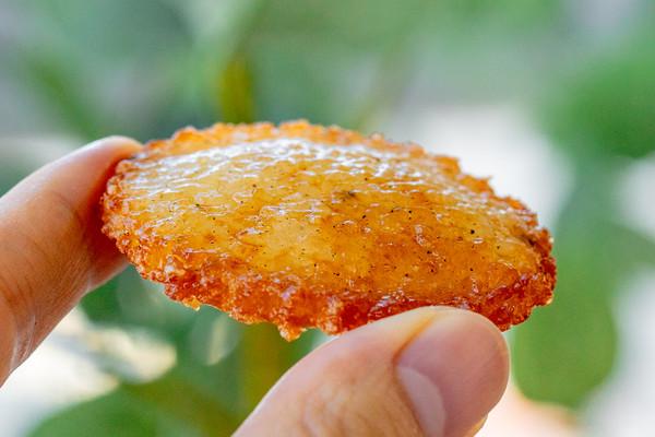 #秋天怎么吃#海苔仙贝 香脆十足的做法