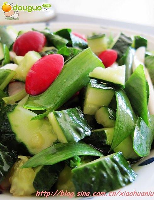 无化肥纯天然的蔬菜,让您怎能不喜爱——爽口小拌菜的做法