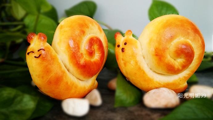 蜗牛卡通小面包