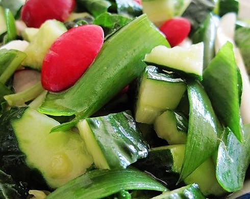 无化肥纯天然的蔬菜,让您怎能不喜爱——爽口小拌菜