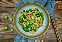 快手菜――美味又营养的鸡蛋秋葵的做法