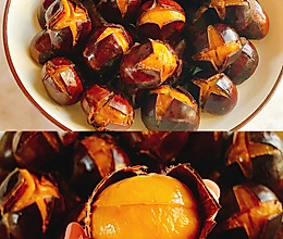 免烤箱❗️香甜软糯~电饭锅糖炒板栗的做法