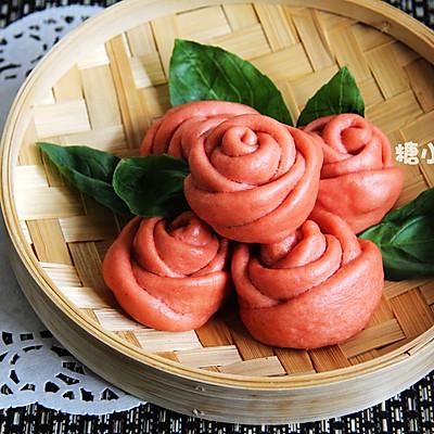 【玫瑰馒头】