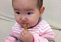 婴幼儿磨牙饼的做法