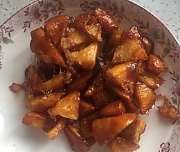 拔丝白薯(拔丝红薯)的做法