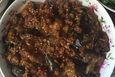 肉沫茄子(下饭菜)