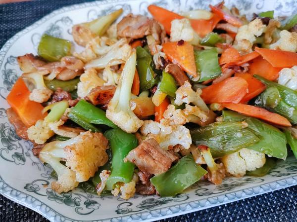 花菜小炒肉的做法
