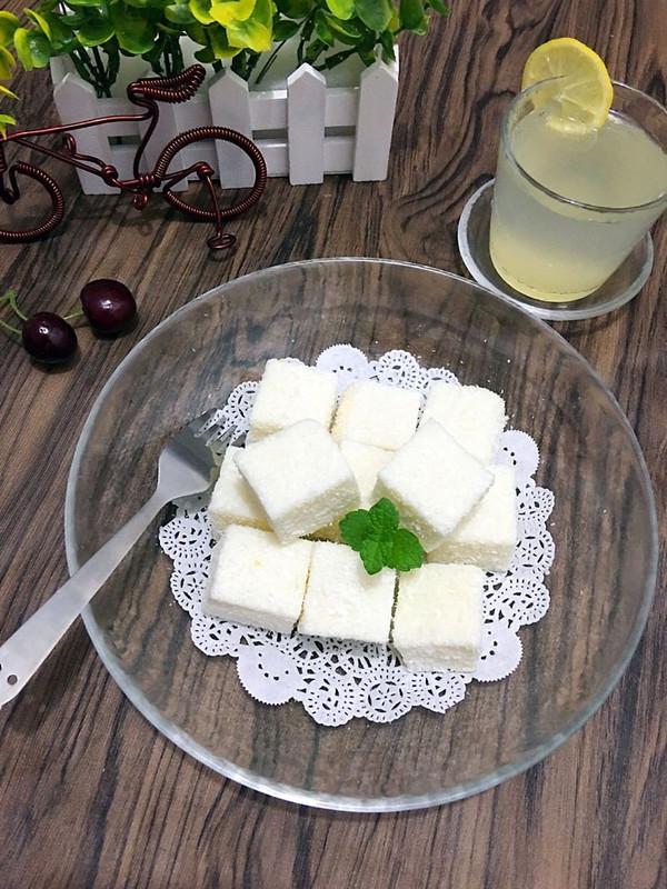 椰香白玉糕的做法