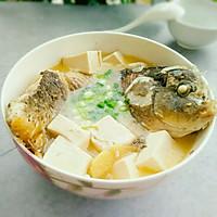 鲤鱼豆腐汤的做法图解12
