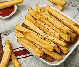 非油炸の烤薯条的做法