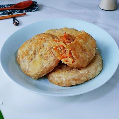 辣粉蚝香萝卜饼
