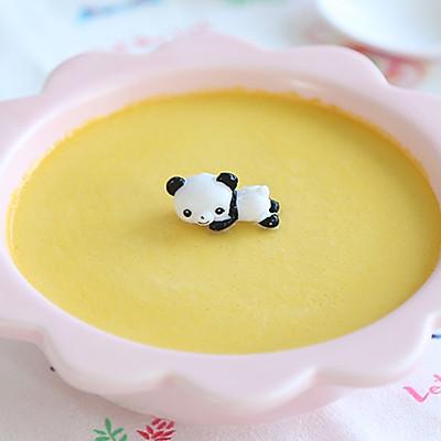 高颜值的蛋黄南瓜蒸蛋,这样做太好吃了!