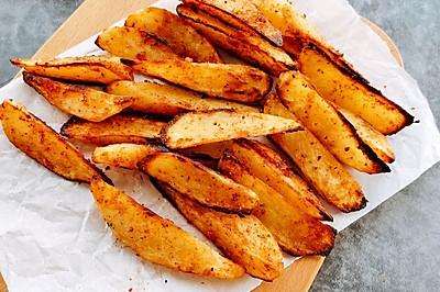 完爆烧烤摊的烤土豆,香辣鲜香巨好吃