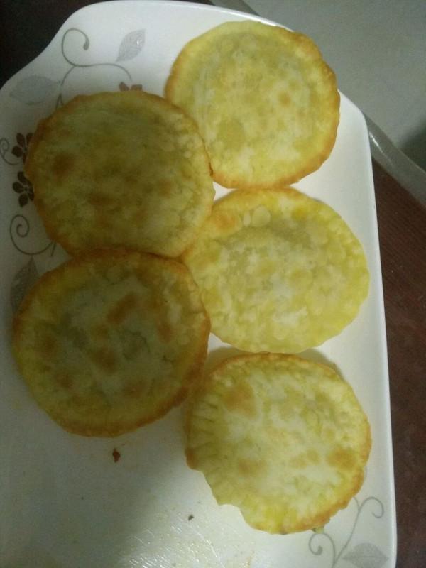 饺子皮烤饼