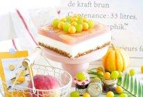 """#2021亲子烘焙组——""""焙""""感幸福#蜜桃酸奶慕斯蛋糕的做法"""
