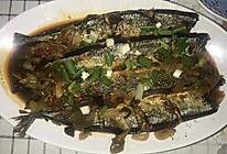 私厨料理之香煎秋刀鱼的做法