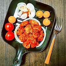 无油韩式烤鸡胸肉
