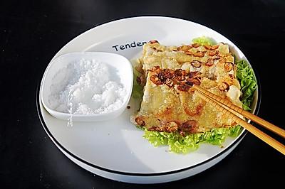 #硬核菜谱制作人# 香煎粘糕片