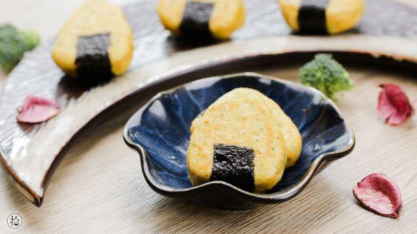 海苔蔬菜鸡肉饼